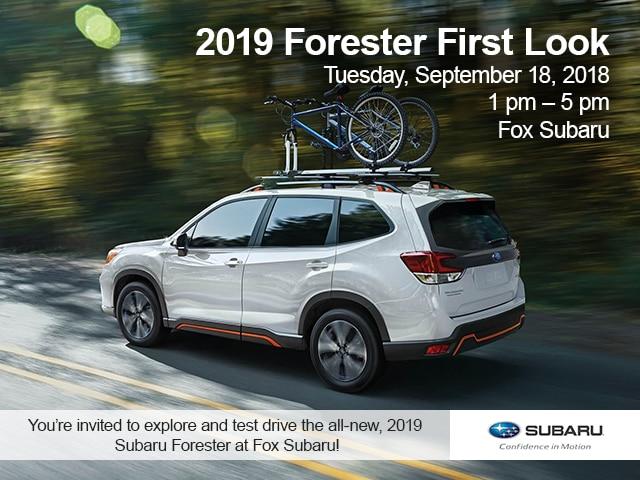 Subaru forester 2019 test