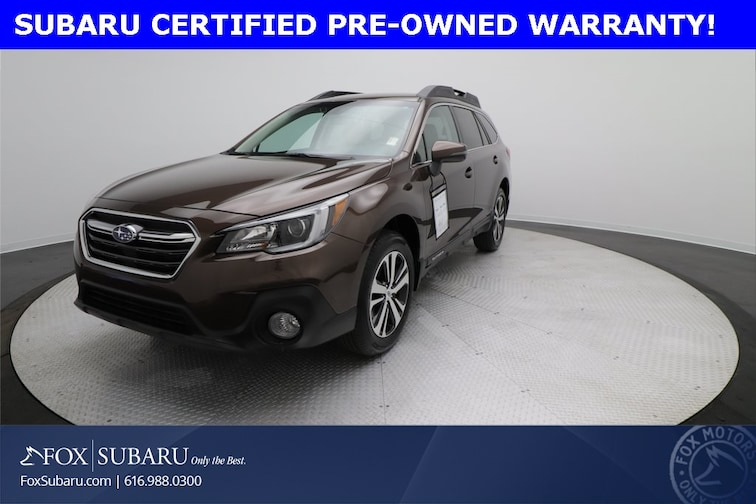 certified  2019 Subaru Outback 2.5i SUV Grand Rapids MI