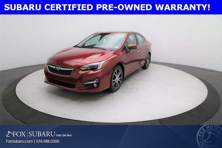 certified  2018 Subaru Impreza 2.0i Limited Sedan Grand Rapids MI