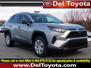 New 2019 Toyota RAV4 LE SUV 191240 for sale in Thorndale, PA