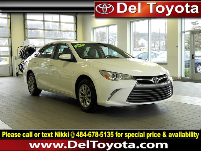 Used 2016 Toyota Camry LE Sedan P8351 for sale in Thorndale