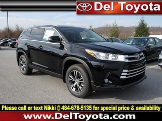 New 2019 Toyota Highlander LE Plus SUV 190583 for sale in Thorndale, PA