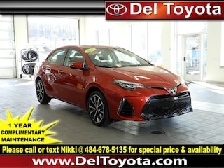 Certified Pre-Owned 2018 Toyota Corolla SE Sedan 190491A in Thorndale, PA