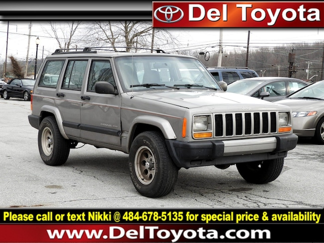 Used 2000 Jeep Cherokee Sport SUV 182078B for sale in Thorndale