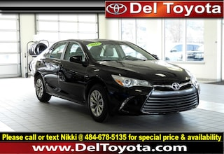 Used 2016 Toyota Camry LE Sedan P8370 for sale in Thorndale, PA