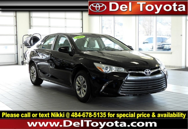 Used 2016 Toyota Camry LE Sedan P8370 for sale in Thorndale
