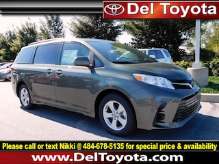 New 2019 Toyota Sienna LE Van 190116 for sale in Thorndale, PA
