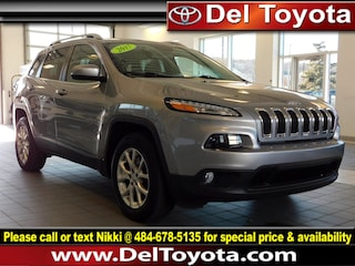 Used 2017 Jeep Cherokee Latitude SUV 182677A for sale in Thorndale, PA