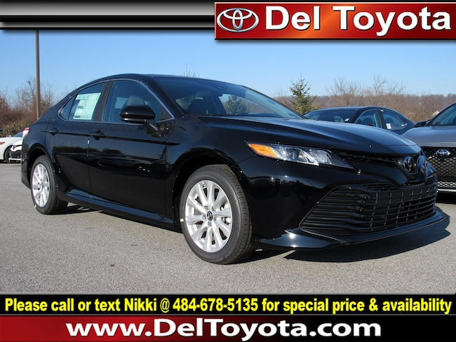 New 2019 Toyota Camry LE Sedan 190548 for sale in Thorndale, PA