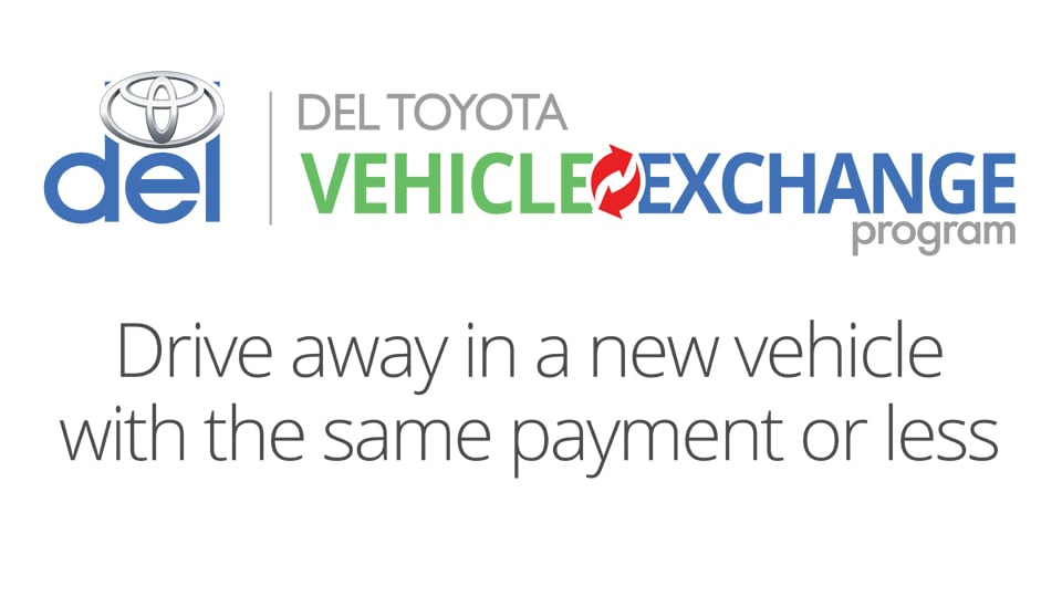 Del Toyota Vehicle Exchange Program