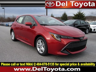 New 2019 Toyota Corolla Hatchback SE Hatchback 190787 for sale in Thorndale, PA