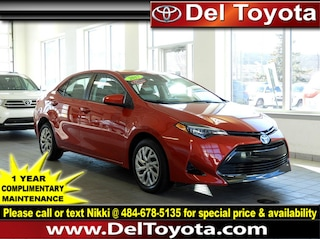 Certified Pre-Owned 2017 Toyota Corolla LE Sedan 190952A in Thorndale, PA