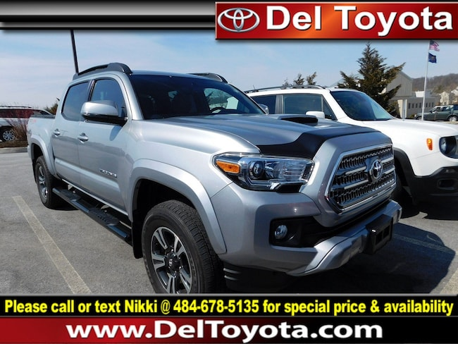 Used 2016 Toyota Tacoma TRD Sport Truck Double Cab 191227A for sale in Thorndale