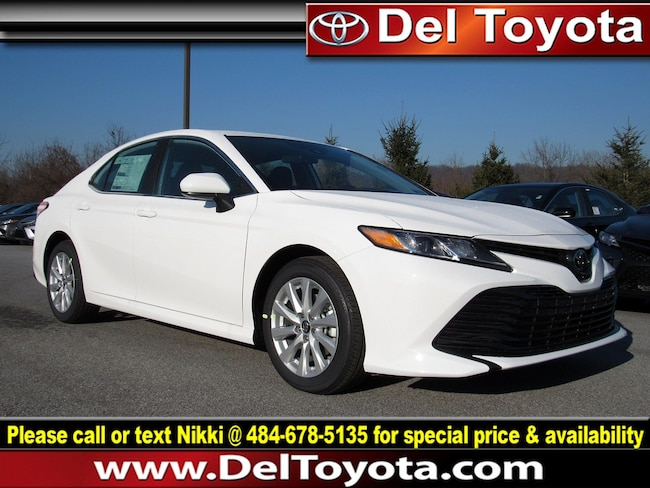 New 2019 Toyota Camry LE Sedan 190653 for sale in Thorndale, PA