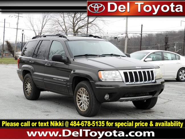 Used 2004 Jeep Grand Cherokee Limited SUV 182701A for sale in Thorndale