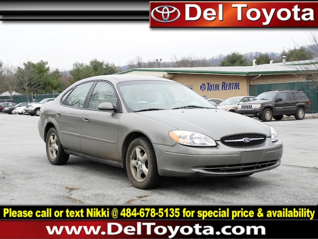 Used 2001 Ford Taurus SES Sedan 190604B for sale in Thorndale