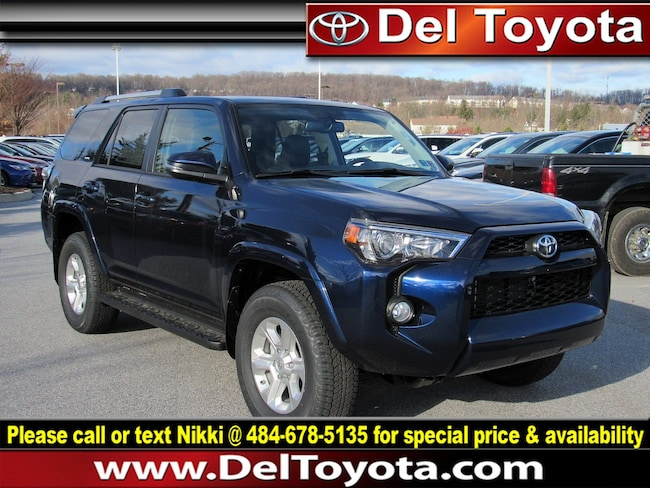 New 2019 Toyota 4Runner SR5 Premium SUV 190444 for sale in Thorndale, PA