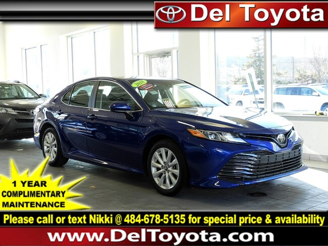 Certified Pre-Owned 2018 Toyota Camry LE Sedan 190776A Thorndale