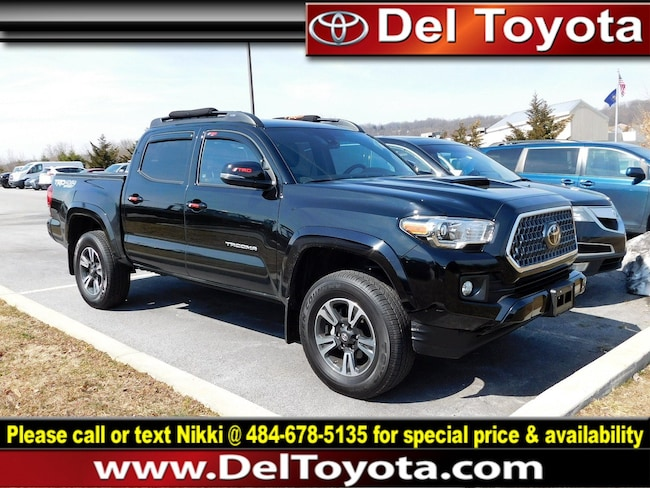 Used 2019 Toyota Tacoma 4WD TRD Sport Truck Double Cab 190061B for sale in Thorndale