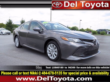Featured Used 2020 Toyota Camry LE Sedan 202543A for Sale near West Chester, PA