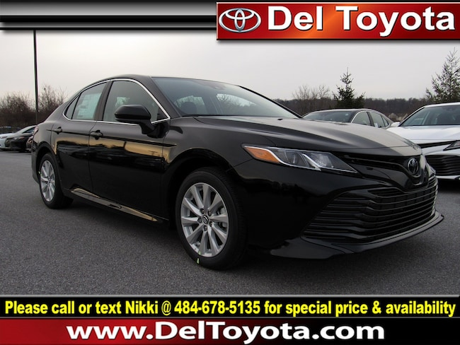 New 2019 Toyota Camry LE Sedan 190581 for sale in Thorndale, PA