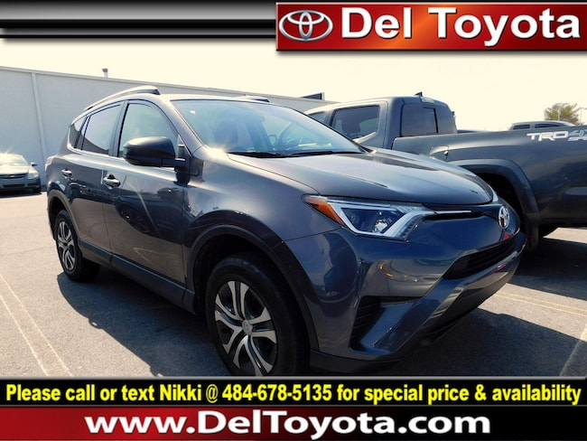 Used 2016 Toyota RAV4 LE SUV P8427 for sale in Thorndale
