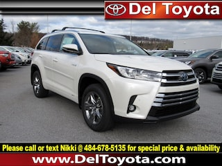 New 2019 Toyota Highlander Hybrid Hybrid Limited Platinum SUV 190668 for sale in Thorndale, PA