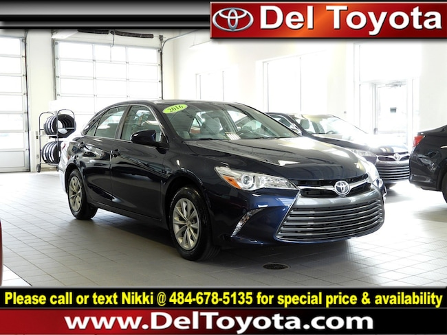 Used 2016 Toyota Camry LE Sedan P8405 for sale in Thorndale