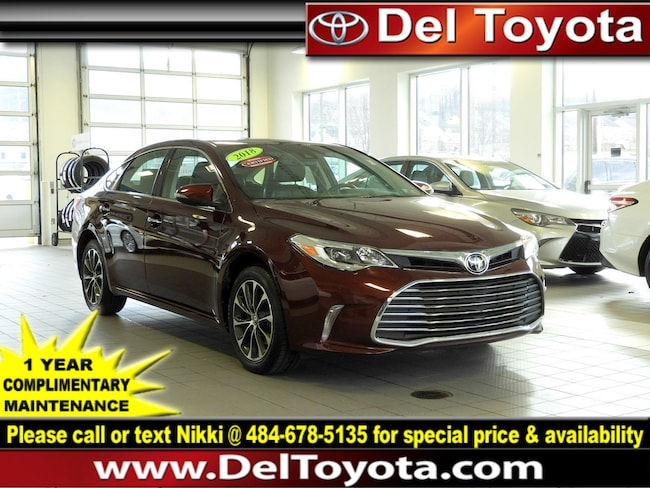 Used 2018 Toyota Avalon XLE Premium Sedan 190300A for sale in Thorndale