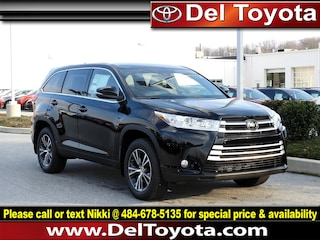 New 2019 Toyota Highlander LE Plus SUV 190228 for sale in Thorndale, PA