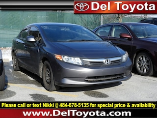 Used 2012 Honda Civic LX Sedan 190828A for sale in Thorndale, PA