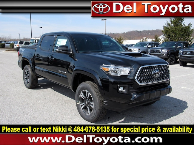 2019 Toyota Tacoma TRD Sport Truck Double Cab