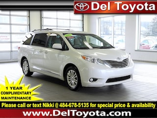 Used 2015 Toyota Sienna XLE Van 191012A for sale in Thorndale, PA