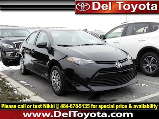 Used 2019 Toyota Corolla LE Sedan 190478A for sale in Thorndale, PA