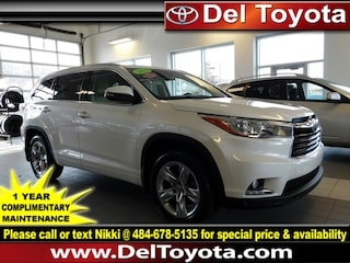 Used 2016 Toyota Highlander Limited Platinum SUV P8414 for sale in Thorndale, PA