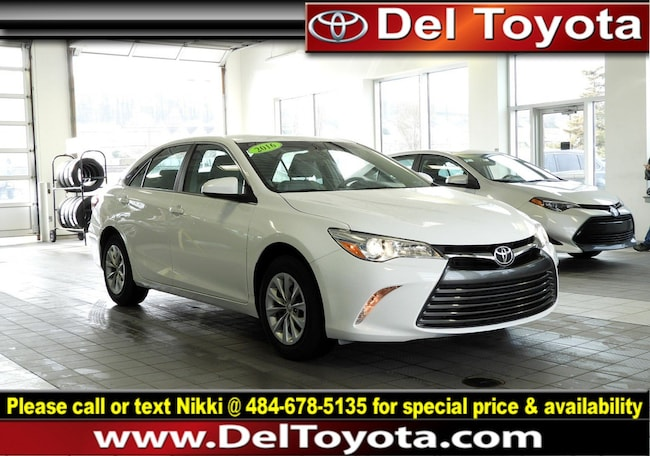 Used 2016 Toyota Camry LE Sedan P8386 for sale in Thorndale