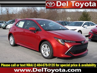 New 2019 Toyota Corolla Hatchback SE Hatchback 190981 for sale in Thorndale, PA
