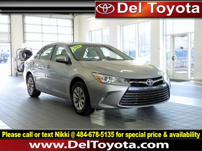 Used 2016 Toyota Camry LE Sedan P8339 for sale in Thorndale