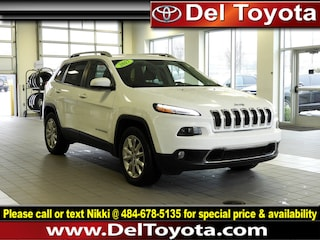 Used 2017 Jeep Cherokee Limited SUV 190393A for sale in Thorndale, PA