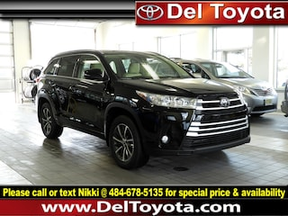 Used 2017 Toyota Highlander XLE SUV 190501A for sale in Thorndale, PA