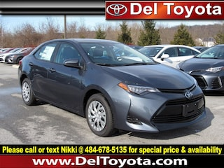 New 2019 Toyota Corolla LE Sedan 191042 for sale in Thorndale, PA
