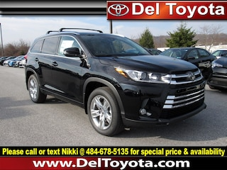 New 2018 Toyota Highlander Limited SUV 182770 for sale in Thorndale, PA