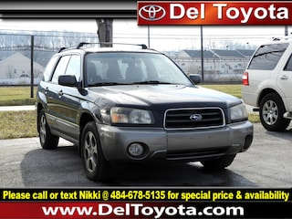 Used 2004 Subaru Forester XS SUV 190748Z for sale in Thorndale, PA