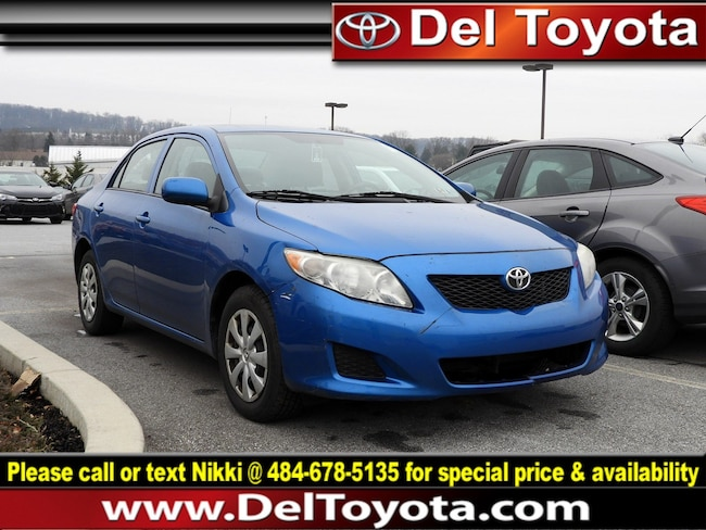 Used 2010 Toyota Corolla LE Sedan 190649A for sale in Thorndale