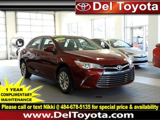 Certified Pre-Owned 2016 Toyota Camry LE Sedan P8398 in Thorndale, PA
