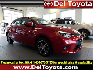 Used 2016 Toyota Corolla LE Plus Sedan P8413 for sale in Thorndale, PA