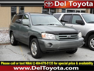 Used 2005 Toyota Highlander Limited SUV 182632B for sale in Thorndale, PA