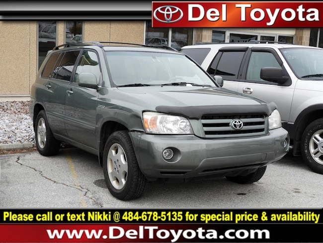 Used 2005 Toyota Highlander Limited SUV 182632B for sale in Thorndale