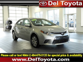 Used 2016 Toyota Corolla LE Sedan P8340 for sale in Thorndale, PA