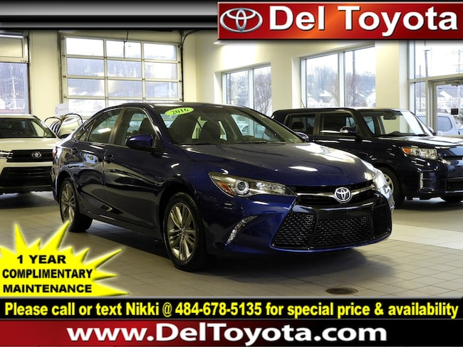 Certified Pre-Owned 2016 Toyota Camry SE Sedan P8345 Thorndale